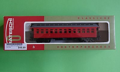 Frateschi HO 2498  New Zealand Rail Old Timer 1st Class Coach Red NEW