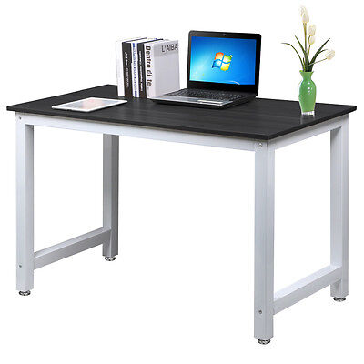 Home Office Computer Desk PC Table Study Workstation Furniture Wooden & Metal AU