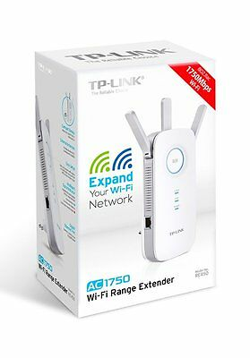 TP-LINK Range Extender Wi-Fi AC1750 RE450 Dual Band fino a 1750Mbps Ripetitore