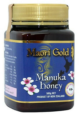 Maori Gold Manuka Honey Active 19+ - 500g