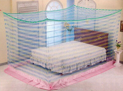 mosquito net rectangular bed canopy insect bug travel portable camping 6 size