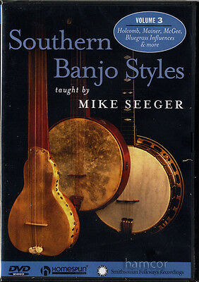 Southern Banjo Styles Volume 3 Mike Seeger Tuition DVD
