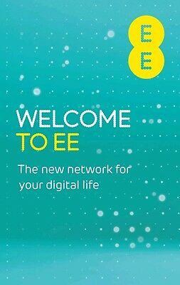 EE 4G Mobile Broadband PAYG Combi SIM Card For Dongles, iPads, WiFi Devices  NEW