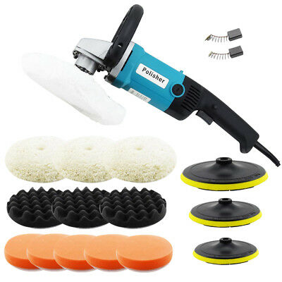 Car Body Sander Electric Car Polisher Buffer Machine 180mm Polishing Sanding Kit