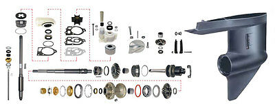 Lower Unit Rebuild Kit for Mercruiser Outdrive MR Alpha One 84-90