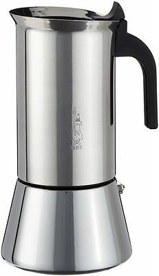 Bialetti 10 Cup Stainless Steel Espresso Maker.New Venus Induction Coffee Maker.