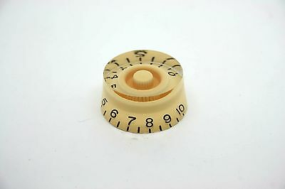 1x CREAM IVORY SPEED KNOB FOR GIBSON EPIPHONE STYLE - CTS OR BOURNS
