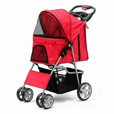 Pet Stroller with 4 Wheels by PetPlanet