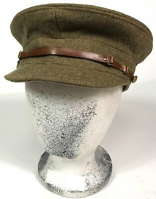 "Wwi British  M1905 Wool Trench ""floppy"" Cap-Xlarge"
