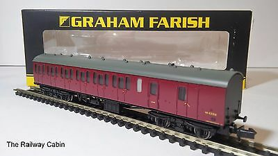 Graham Farish 374-311A N Gauge MK1 Suburban Brake End BR Crimson (INV-02)