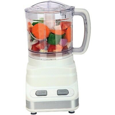 Brentwood 3 Cup Food Processor in White (FP-546)