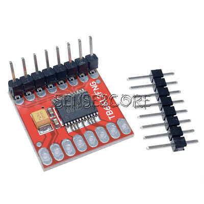 Dual Motor Driver 1A TB6612FNG for Arduino Microcontroller Better than L298N