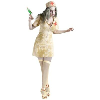 Zombie Nurse Costume Adult Halloween Fancy Dress