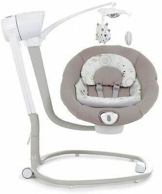 Bright Starts Up and Away Portable Swing chair for baby