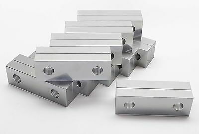 "6x2x1"" Kurt Vise Jaws Aluminum Soft Jaws 10 pack Fit Kurt 6"" Vises Free shipping"
