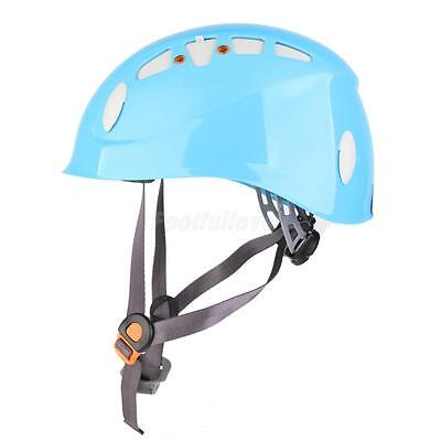Mountaineer Safety Helmet Outdoor Climbing Equipment for Caving Rappelling