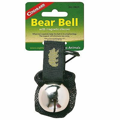New! Coghlans Bear Bell Silver 0425