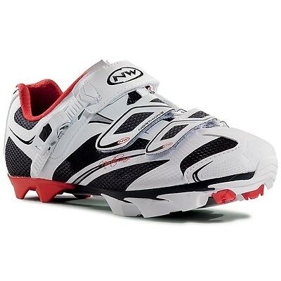 Northwave Katana SRS MTB Shoes, Women, Black/White/Red, 40