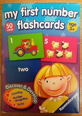 My First Number Flashcards by Ravensburger. Priced to clear.