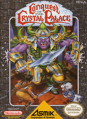 Conquest Of Crystal Palace Nes Nintendo Game