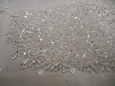 full package,720 new preciosa squished spacer crystal beads,5x3mm clear crystal