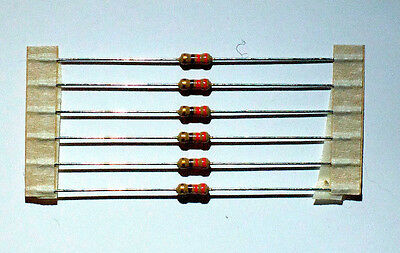 330 Ohm 1/4 Watt Through Hole Resistor (6 pcs) Carbon Film 5% Tolerance