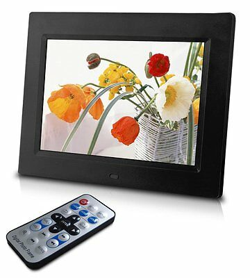Sungale CD802 8-Inch Digital Photo Frame, multimedia player, 5 star product (Bl