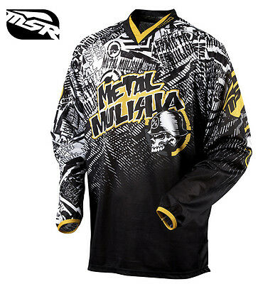 M Medium METAL MULISHA Volt Jersey MX Vented Motorbike Motocross BMX etc