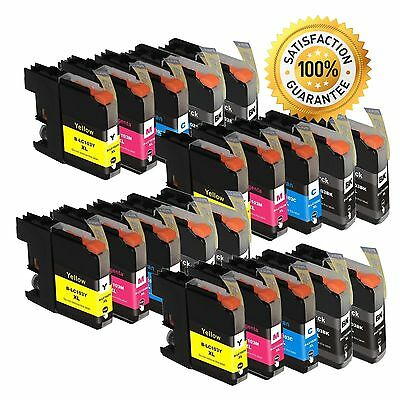 20PK LC103XL LC 103 High Yield Ink For Brother DCP-J152W MFC-J475DW Printer
