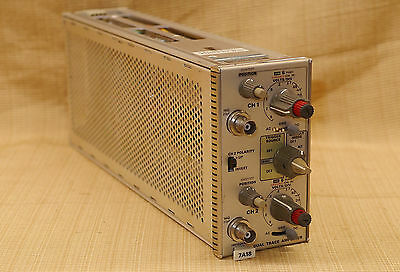 Tektronix 7A18 Dual Trace Amplifier  Plug In 7000 Series Mainframe Oscilloscopes
