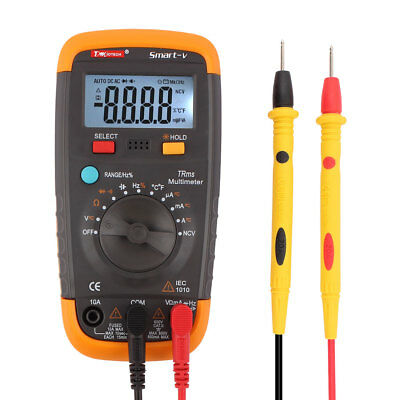 Smart-V True RMS Auto Ranging Multimeter with Sound Control LCD Backlight