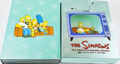 The Simpsons Complete Second  Season DVD Collectors Edition 4 Disc Set