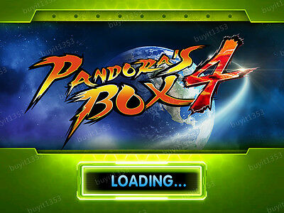 Pandora box 4 jamma arcade 645 in 1 free video games 80S funny games cool games