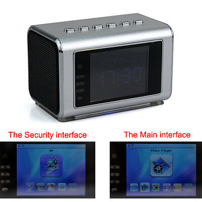 Mini Hidden Spy Camera w/Motion Detection Infrared Night Vision Speaker FM/MP3/4