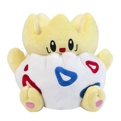 Pokemon Center Togepi Plush Toy Stuffed Animal Soft 8 inch Figure Doll Gift