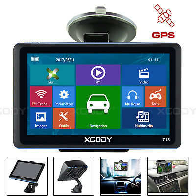 "XGODY 7 ""GPS europe UE navi Navigation Car navigation GPS de voiture carte sat n"