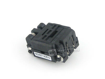 Plastronics 16QN50T14035 IC Test & Burn-in Socket for QFN16 MLP16 MLF16 package