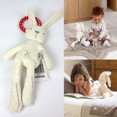 Baby Infant Rattles Plush Rabbit Stroller Music Hanging Bell Toy Doll Soft Bed