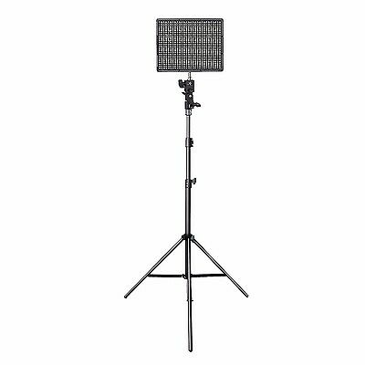 AU Aputure Amaran AL-HR672C 3200-5500K LED Video Light Panel + Light Stand