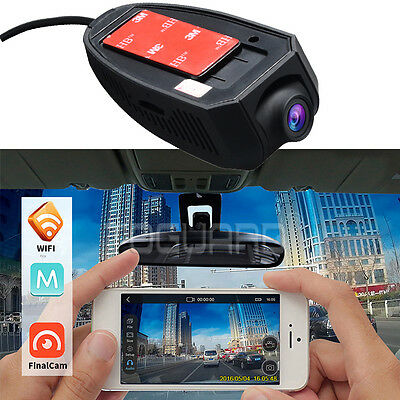 HD 1080P Car Dash Cam DVR Front and Rear Camera Battery Free +32GB Card AU STOCK