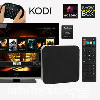 PRO 4K Quad Core Android 5.1 Fully Loaded TV BOX (SHOWBOX / KODI / MOBDRO)