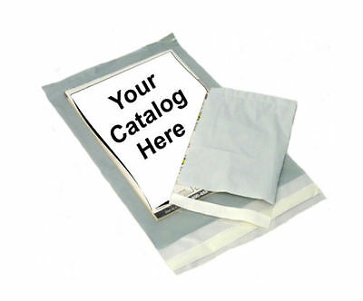 2000 3 Mil Clear View Poly Mailer Shipping Mailing Self Seal Envelope Bag 10x13