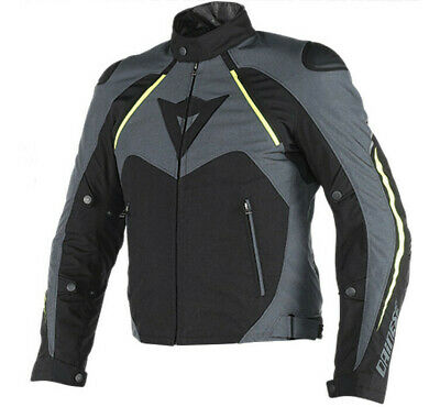Giacca Dainese Hawker d-dry nero giallo sport touring impermeabile sfoderabile