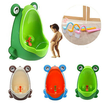 Frog Potty Toilet Training Kids Urinal for Boy Pee Trainer Children Urinal UK