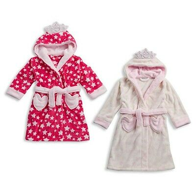 Kids Novelty Fairy Princess Dressing Gown Robe