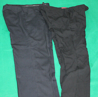 Job Lot Wholesale 2 Vintage Genuine Hugo Boss Trousers Mens Size Vary Hs97