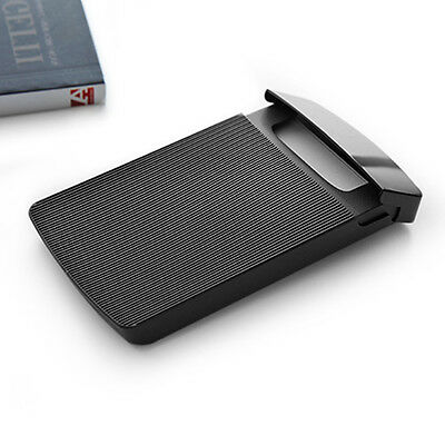 Plastic Business Card Case ID Credit Card Holder Portable Supplies Storage Box