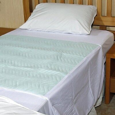 """Comfortnights economy Bed Pad ,90cms x 90cms (35.5"""" x 35.5"""")with tucks,2.5 Litre"""