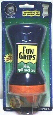 Gerber Fun Grips Spill Proof Cup, 10 oz - Colors Vary