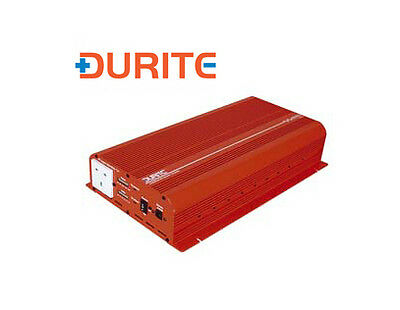 Durite 0-856-15 1500W 12V DC to 230V AC Modified Wave Voltage Inverter